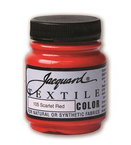 Textile color - escarlata 70 ml - JAC1105