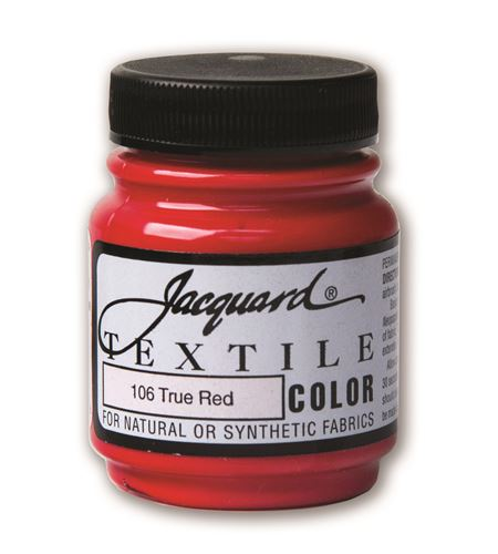 Textile color - rojo verdadero 70 ml - JAC1106