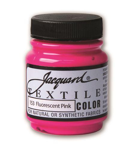 Textile color - rosa fluor 70 ml - JAC1153