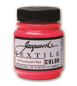 Textile color - rojo fluor 70 ml - JAC1154