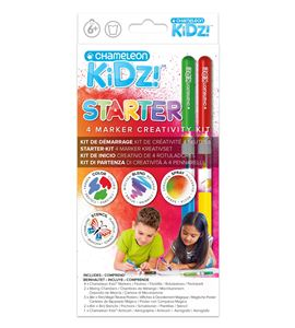 Chameleon kidz estuche de viaje 4 colores - CK1001UK TRAVEL KIT FRONT