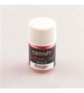 Cernit sparkling 3 gr metallic rojo - CE6100005400
