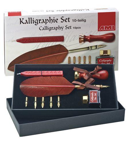 Estuche de caligrafía de regalo 10 piezas - 445685