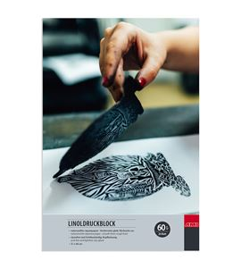 Bloc de papel japonés para linograbado-xilografía 20 hojas 60 gr m2 31x46cm - 182381