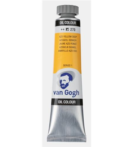 Óleo van gogh 20 ml amarillo oscuro azo - TA-02042703
