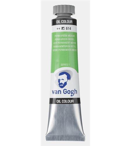 Óleo van gogh 20 ml verde permanente medium - TA-02046143