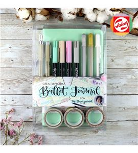 Crea tu propio bullet journal azul pastel - PO20003