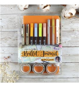 Crea tu propio bullet journal naranja - PO20005