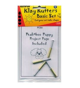 Kit 4 cortadores con expulsor para hacer perritos - PCS5