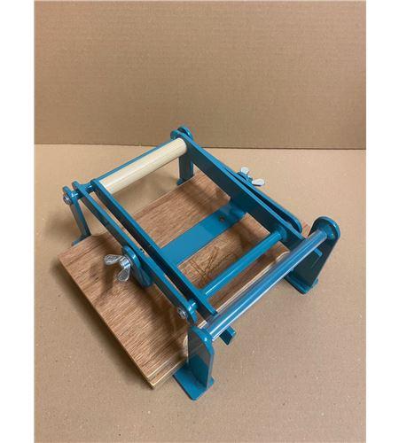 Prensa de linograbado profesional a5 148 x 210 mm. color turquesa - IMG_7340
