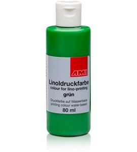 Tinta linograbado ami 80 ml. verde - AM-501106