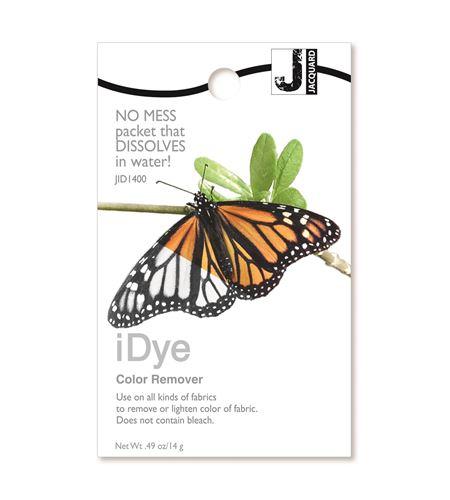Eliminador del color textil idye color remover 14 gr - JID1400