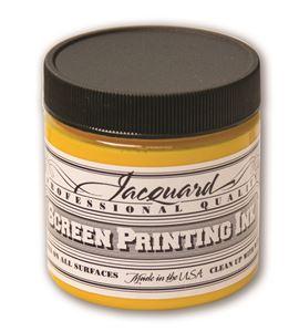 Tinta serigrafía profesional jacquard 118,29 ml amarillo - JSI1101