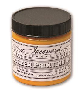 Tinta serigrafía profesional jacquard 118,29 ml amarillo dorado - JSI1102