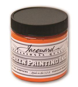 Tinta serigrafía profesional jacquard 118,29 ml. naranja - JSI1103