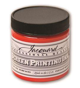 Tinta serigrafía profesional jacquard 118,29 ml escarlata - JSI1106