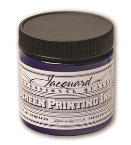 Tinta serigrafía profesional jacquard 118,29 ml. azul real - JSI1110