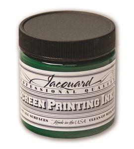 Tinta serigrafía profesional jacquard 118,29 ml verde amarillo - JSI1114