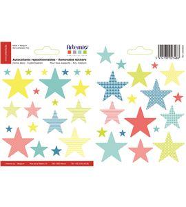Adhesivos reposicionables - estrellas - 22005003