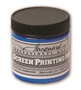 Tinta serigrafía profesional jacquard 118,29 ml azul opaco - JSI1128