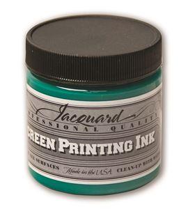 Tinta serigrafía profesional jacquard 118,29 ml verde opaco - JSI1129