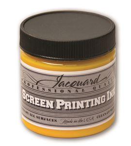 Tinta serigrafía profesional jacquard 118,29 ml amarillo process - JSI1140