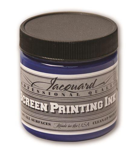 Tinta serigrafía profesional jacquard 118,29 ml cian process - JSI1142