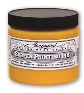 Tinta serigrafía profesional jacquard 473,18 ml amarillo - JSI3101