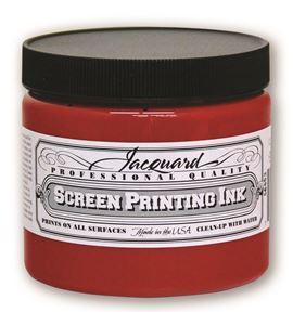 Tinta serigrafía profesional jacquard 473,18 ml rojo - JSI3104