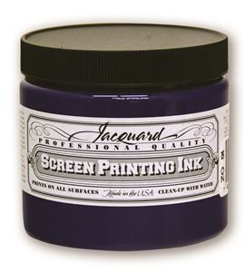 Tinta serigrafía profesional jacquard 473,18 ml azul - JSI3111