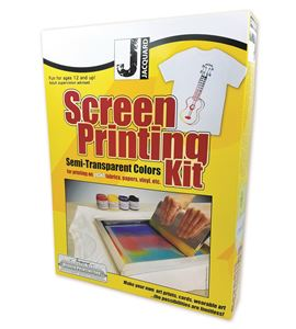 Kit de serigrafía colores semi-transparentes jacquard - JSI9000