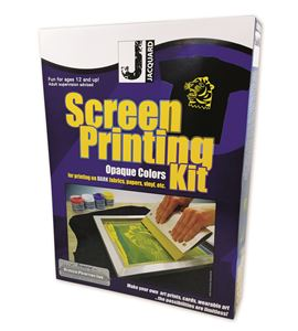 Kit de serigrafía colores opacos jacquard - JSI9001