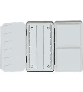 Caja de acuarela metálica vacía premium 6/12 unidades - AM-507490
