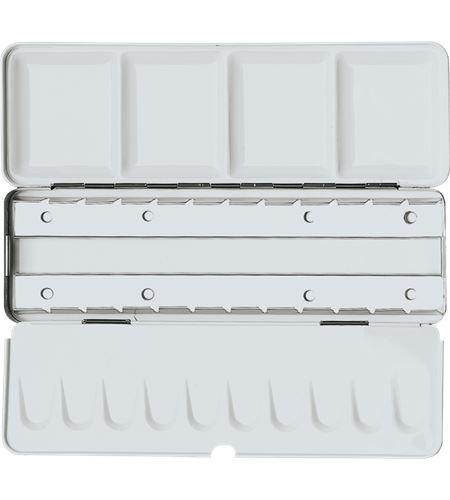 Caja de acuarela metálica vacía premium 12/24 unidades - AM-507491