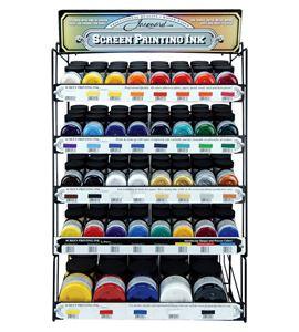 Expositor de tinta profesional para serigrafía jacquard products - EXPOSITOR SCREEN PRINTING INK