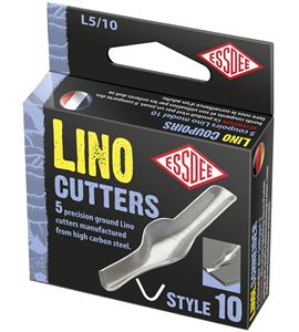 Gubia para linóleo modelo nº 10 x 5 unidades - L5-10