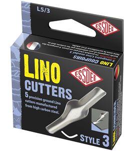 Gubia para linóleo modelo nº 3 x 5 unidades - L5-3