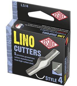 Gubia para linóleo modelo nº 4 x 5 unidades - L5-4