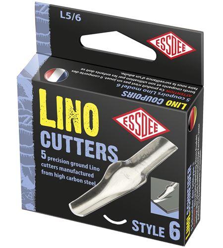 Gubia para linóleo modelo nº 6 x 5 unidades - L5-6