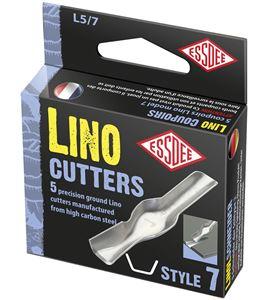 Gubia para linóleo modelo nº 7 x 5 unidades - L5-7