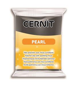 Arcilla polimérica cernit pearl 56gr negro - CE0860056100